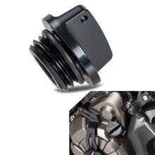 Bouchon de remplissage dhuile pour motos noir   Pour YAMAHA YZF R1 R6 R6S R125 XT660 TZ250 MT07 FZ07 FZ1 FZ6 FZ8 TDM 850 FJR1300