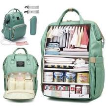 Sac à dos à couches de grande capacité   Sac de maternité étanche, sacs à couches pour bébé avec Interface USB, sac de voyage pour maman pour poussette