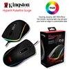קינגסטון HyperX Pulsefire גל RGB תאורה משחקי עכבר מהשורה FPS ביצועים Pixart 3389 חיישן עם ילידים עד 16000