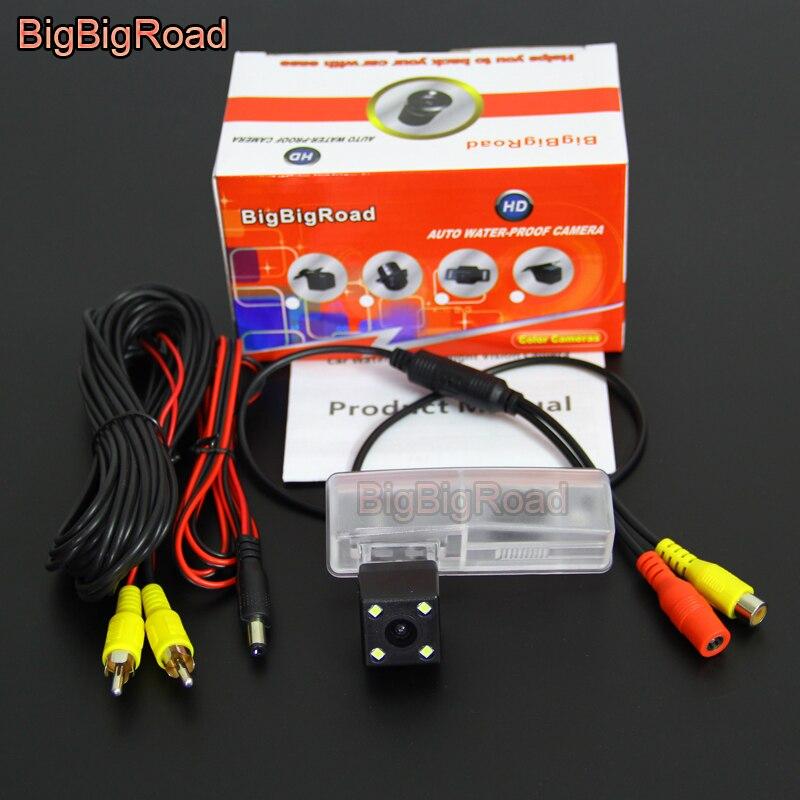 BigBigRoad Car Rear View Camera Reversa Backup Para Toyota Venza Altezza Aristo Celsior RAV4 RAV-4 RAV 4 XA40 night vision