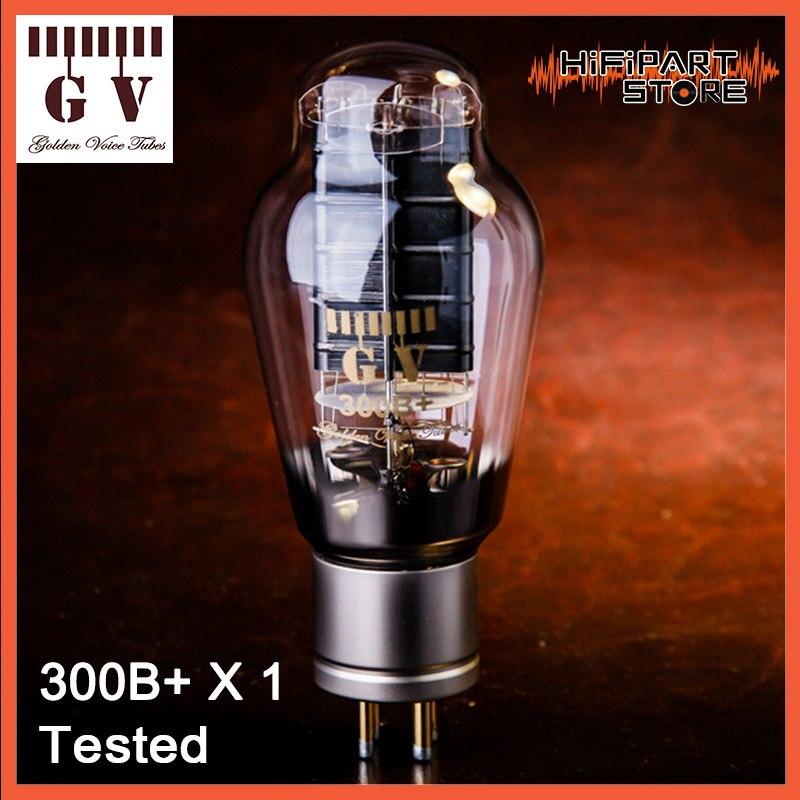 Tubo de válvula de voz dorada GV 300B + probado, accesorios para amplificadores, Repalce, Psvane, Shuguang, JJ, de Oro León, EH 300B, 300B-98, 300B-Z, 1 unidad