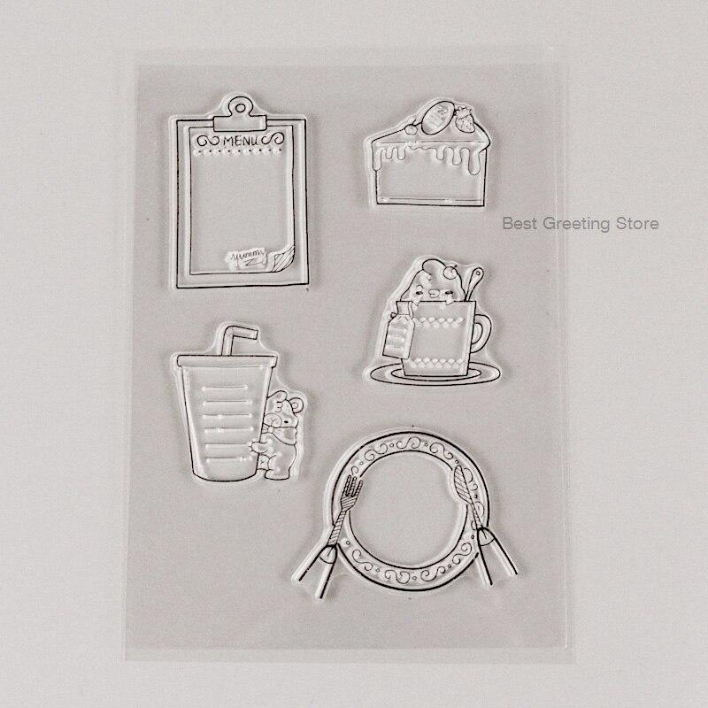 Mini planificador de sellos transparentes para alimentos