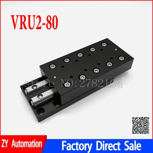 Cross Roller Guide Plate Linear Guide Rail CNC Cross Sliding stage VRU2080 VRU2-80