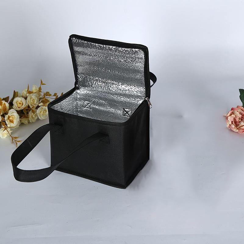 Сумка-холодильник для ланча, изоляционная Складная портативная сумка для пикника, еды, Термосумка для транспортировки еды, сумка для напитк...