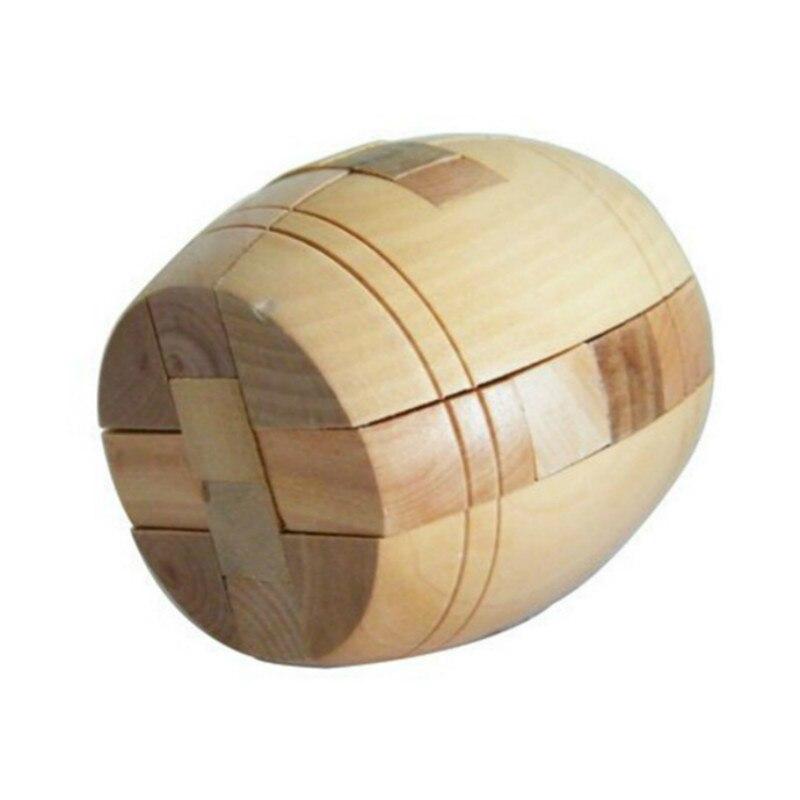 Crianças adulto 3d quebra-cabeça de madeira brainteaser barril cerveja bloqueio jigsaw madeira fantasia presente natal brinquedo alta qualidade