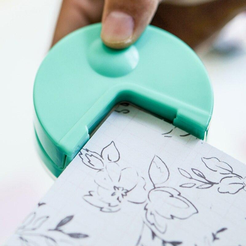 DIY Mini R4 машина для резки бумаги, угловая машина, Круглый Инструмент для штамповки, резак для скрапбукинга, инструменты для тиснения