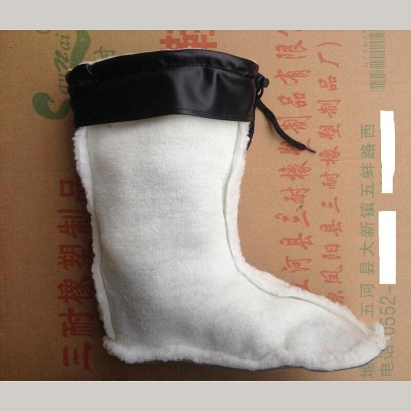 Nuevo Forro de algodón botas de invierno forro más tubo de terciopelo cerca de 30cm de altura y 40cm de altura