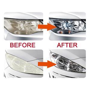 Image 5 - LUDUO DIY наборы для восстановления фар, наборы для полировки фар, системы очистки пасты, уход за автомобилем, лампы для мытья головы, отбеливатель для восстановления и ремонта