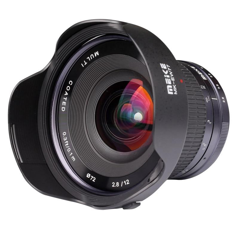 Meike 12mm f/2,8 Manual de E-Mount para Sony NEX-3 NEX-5 NEX-5N NEX-7 NEX-6 NEX-3N A3000 A7 a7ii A7R A6300 A6000 con APC-S