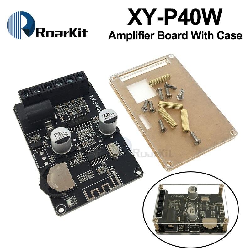 AMPLIFICADOR DE POTENCIA estéreo Bluetooth Placa de doble canal 12V 24V 10W 15W 20W 30W módulo receptor Bluetooth 40W para Kit de bricolaje