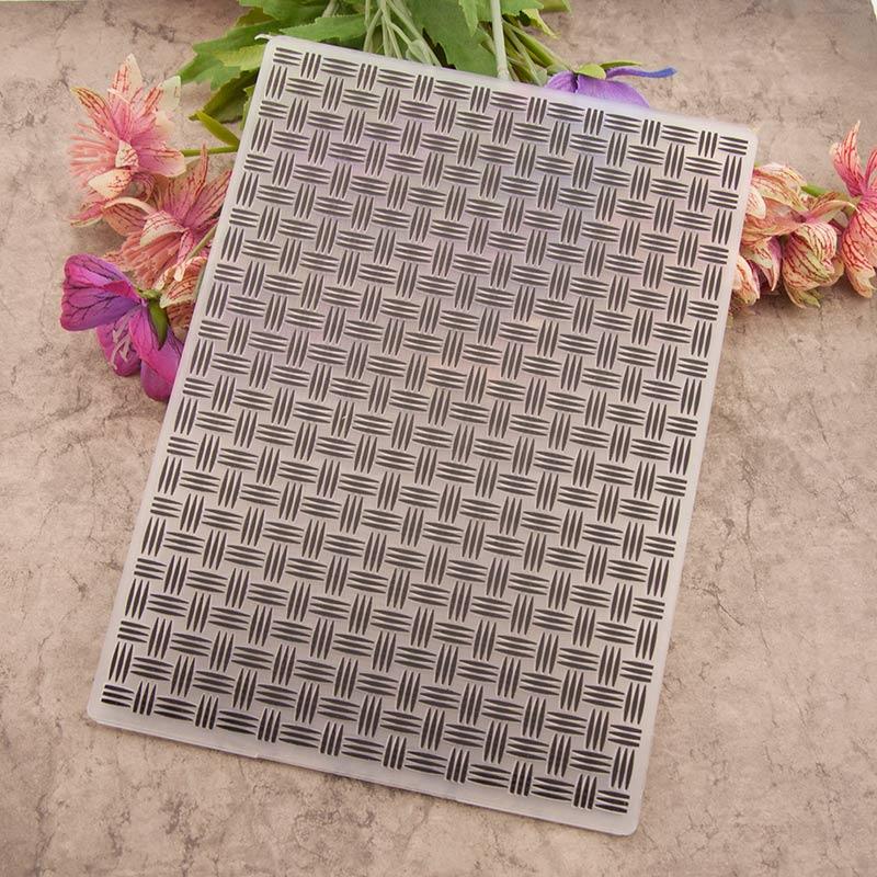 KLJUYP Background Plastic Embossing Folders for DIY Scrapbooking Paper Craft/Card Making Decoration Supplies 056