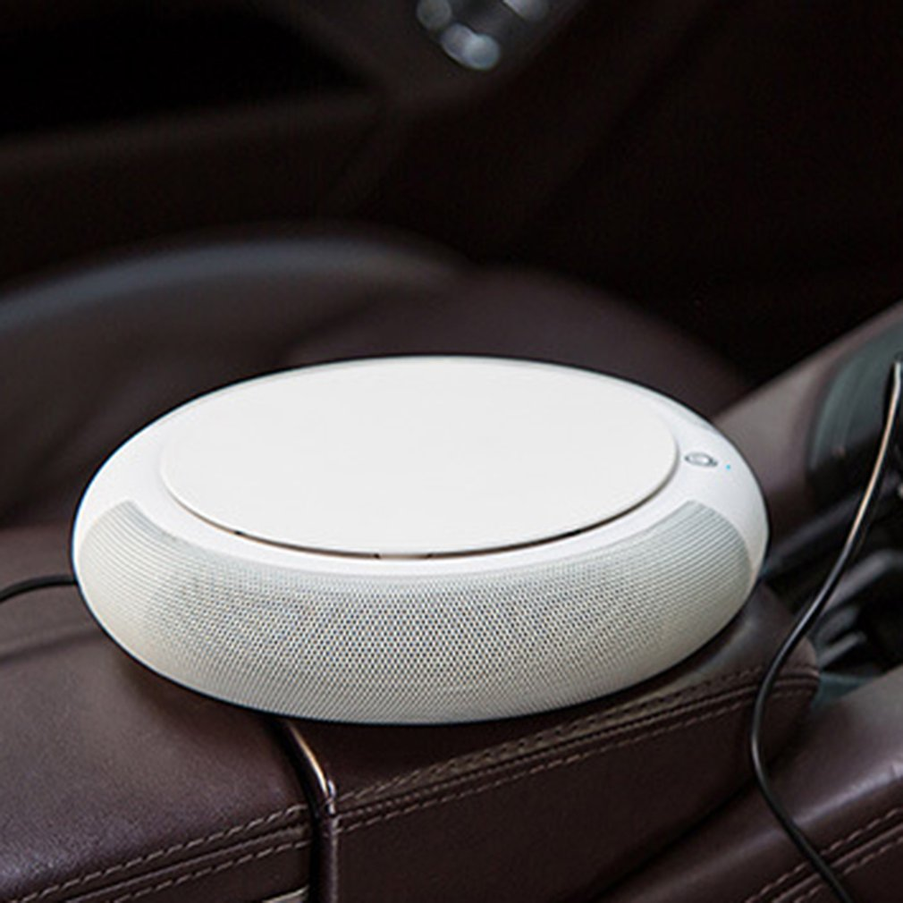 Purificador de ar do carro íon negativo inteligente com filtro usb mais limpo remover formaldeído cigarro fumaça odor inteligente ionizador purificação