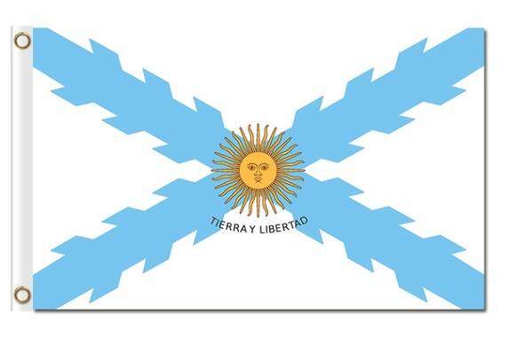 Estampas de Tecido de Poliéster Bandeira 3x5ft bandeira del Estado de Morelos