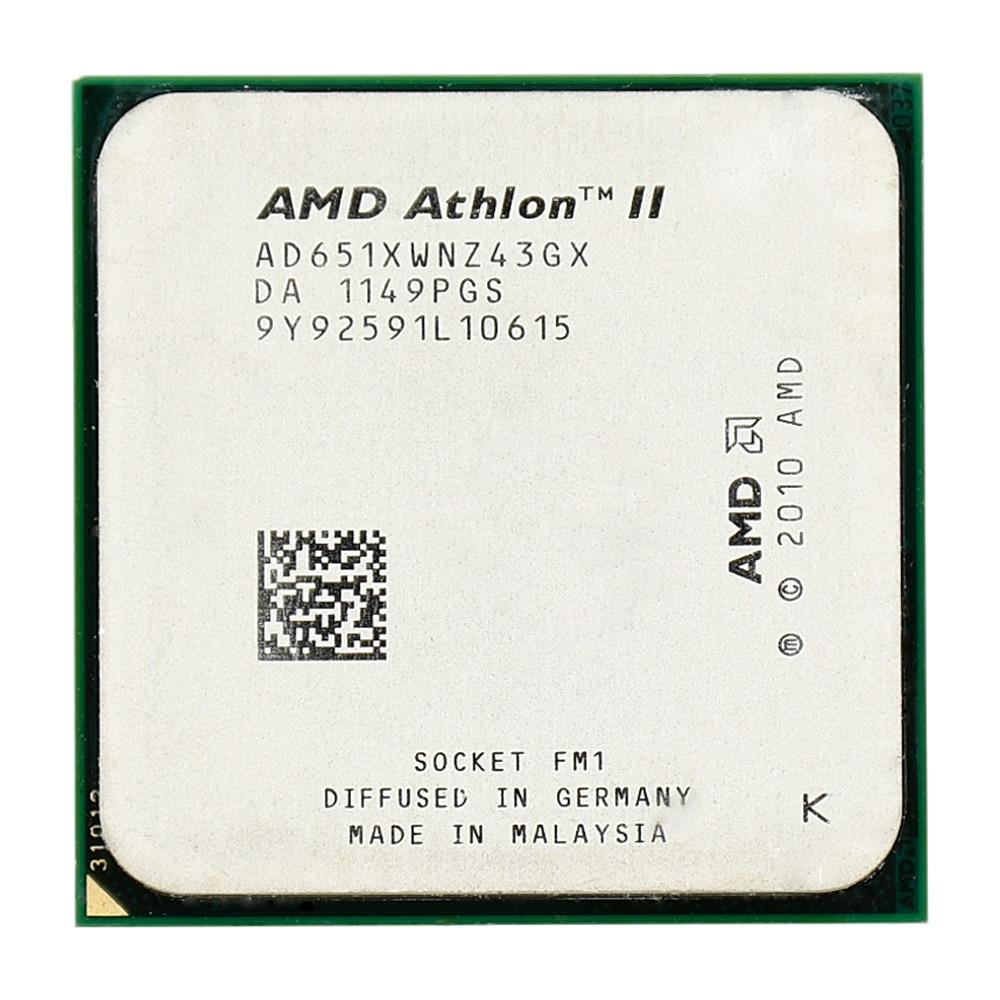 AMD Athlon II X4 651 4MB 32nm 100W 0GHz Quad-Core Socket FM1...