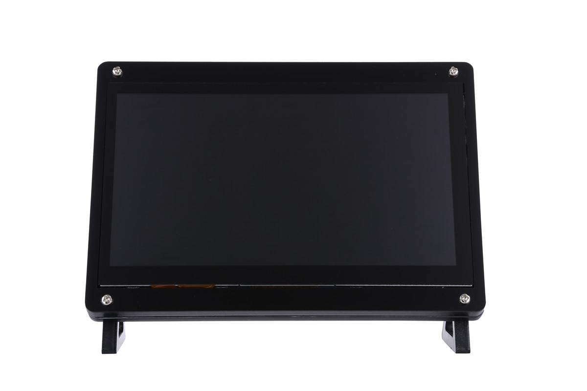 new 7 inch usb hdmi lcd display monitor capacitive touch screen holder case for raspberry pi windows jetson nano New 7 inch USB LCD Display 1024x600 Capacitive Touch Screen Case For Raspberry Pi 4