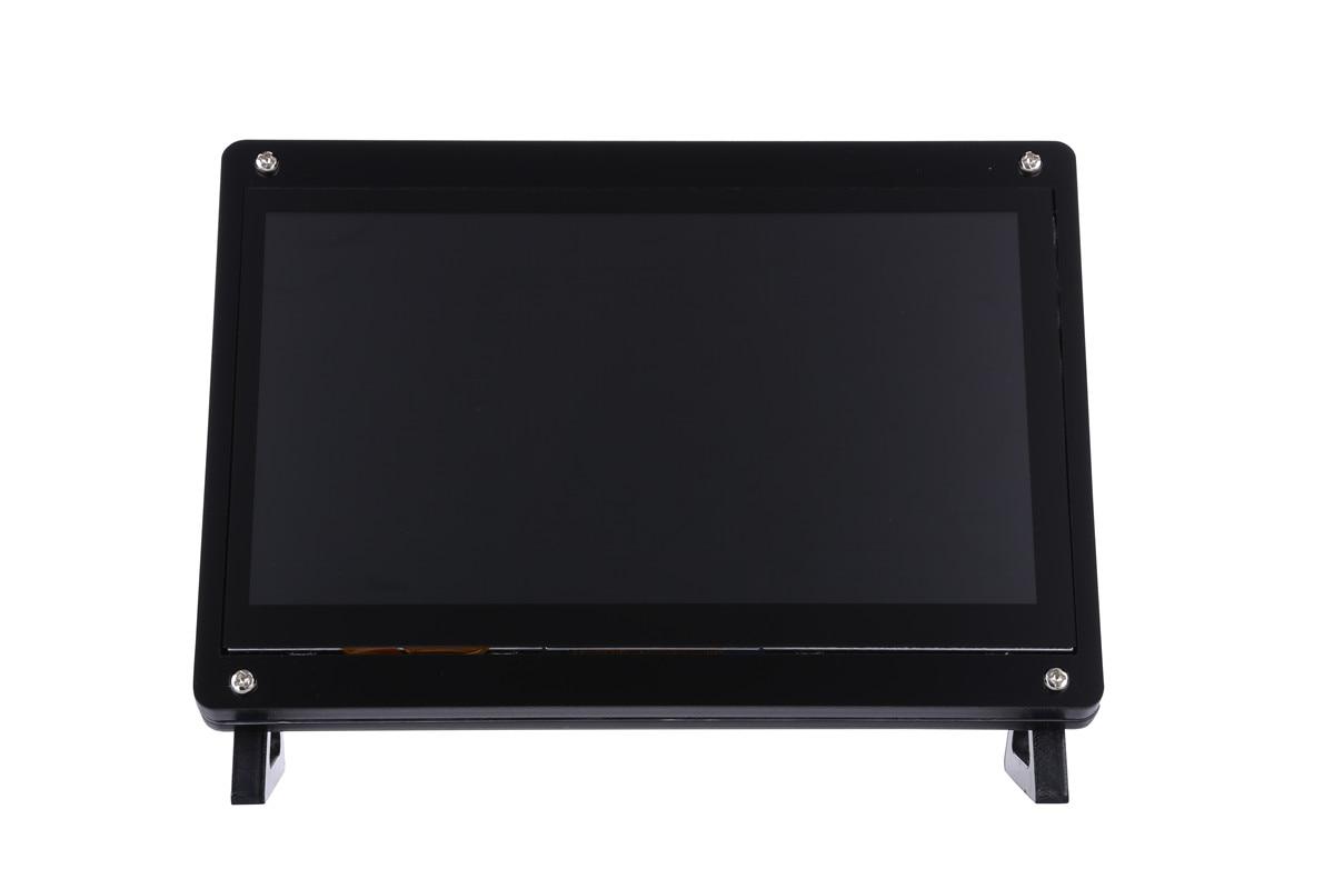 novo display lcd 1024x600 com tela capacitiva usb 7 polegadas para raspberry pi 4