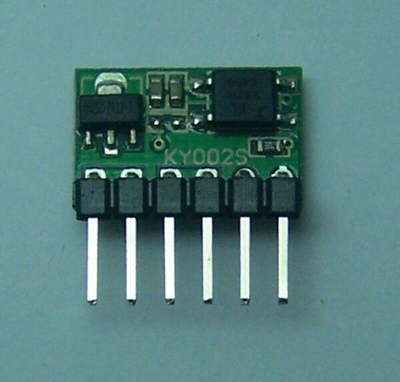Módulo de interruptor de pestillo Flip-Flop DC 3V-24V 5A interruptor biestable de un solo botón de alta potencia aislamiento optoacoplador 5000mA para relé LED