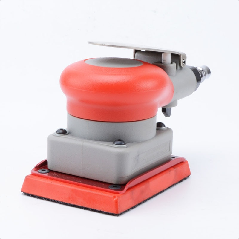 Pneumatic sander pneumatic tools square rail pneumatic polishing machine square pad 75 * 100mm surface grinder