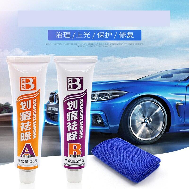 Car Scratch Repair Kits Scratches Removal Wax Car Maintenance Towel Sponge Auto Body Polishing Fix Car Paint Care Styling Tools