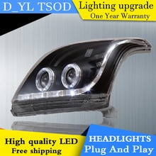 Toyota prado 헤드 라이트 용 자동차 스타일링 2004-2007 prado led 헤드 라이트 헤드 램프 led drl 프로젝터 헤드 라이트 h7 hid bi-xenon lens