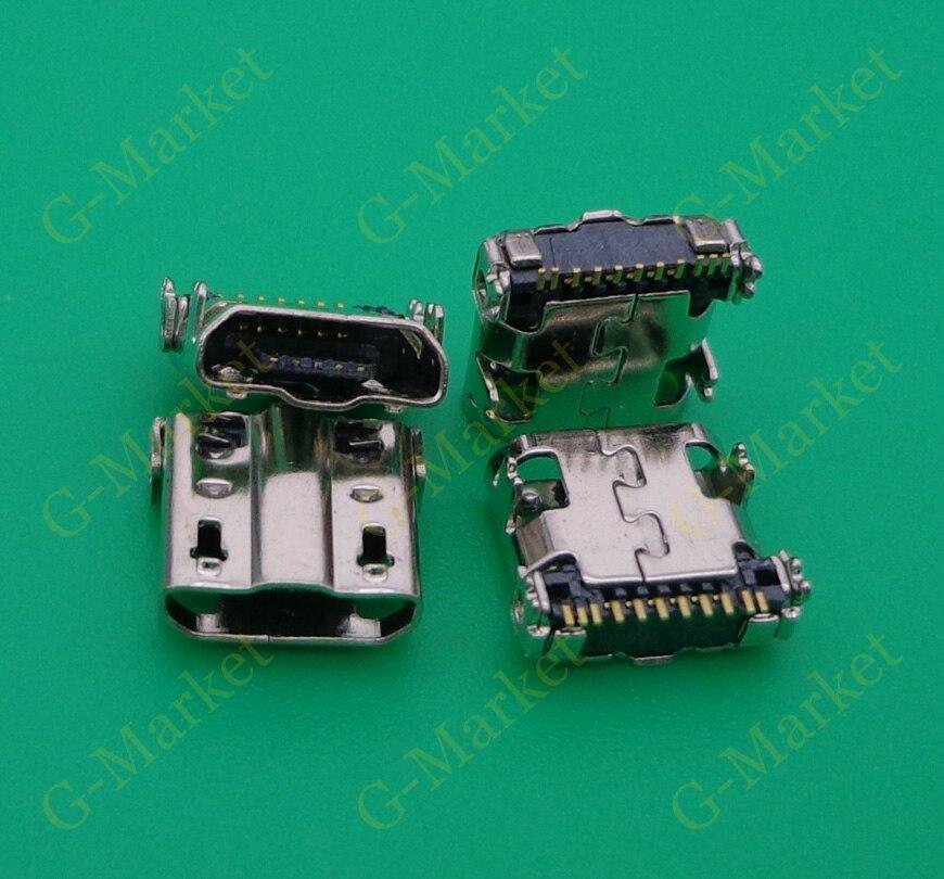 موصل شحن USB مصغر ، مقبس توصيل لجهاز Samsung Galaxy S4 I9500 NOTE 2 L900 N7100 N7102 N7105 N7108 N719 S4 I9505