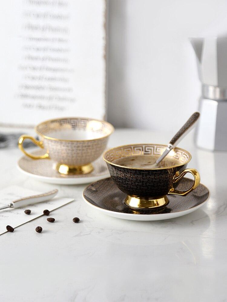 طقم أكواب وصحون ، فنجان قهوة ، فنجان شاي ، هدية زفاف ، ديكور حفلات