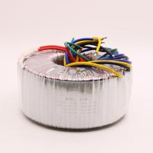 Transformateur toroïdal 500 W AC220V sortie: Double 33 V * 2 + Double 15 V pur fil de cuivre alimentation haute puissance