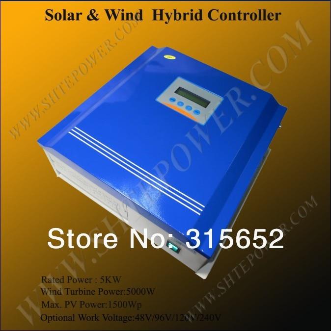 96V Wind Solar Hybrid Charger Controller 5000w 5kw