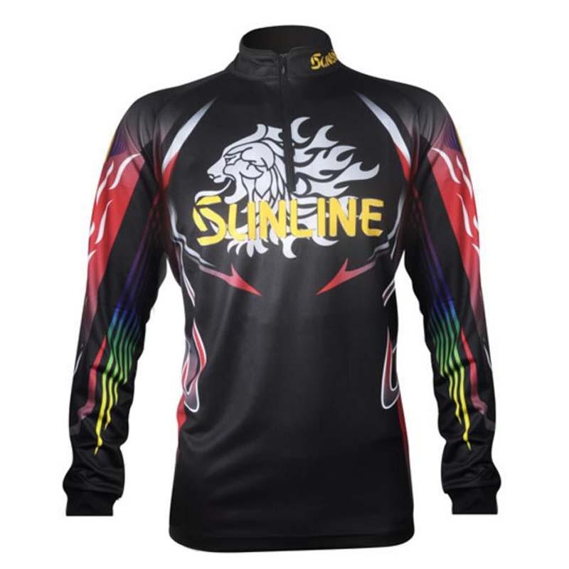 Deportes al aire libre 2018 Hombre Camisas de senderismo ropa de pesca de manga larga para Anti-uv/transpirable de secado de ropa de pesca camisa