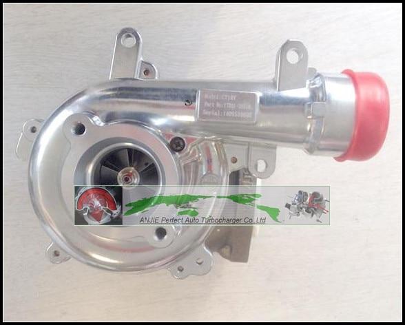 Турбо без привода CT16V 17201-OL040 17201-30110 для TOYOTA HI-LUX Hilux Landcruiser VIGO3000 1KD-FTV 1KDFTV 3.0L турбокомпрессор