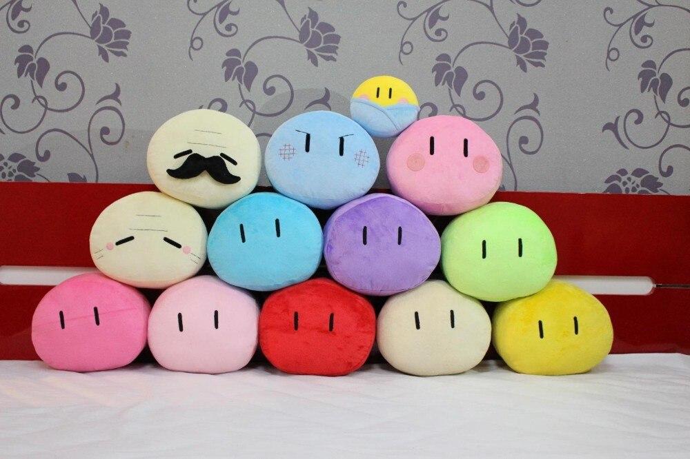 Juguetes de peluche CLANNAD Dango Daikazoku Furukawa NAGISA Dango, almohada familiar de felpa, cojín Cosplay para regalo de niñas