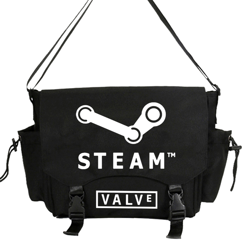 Bolso de mano de vapor de PC, bolso de mensajero informal de hombro, bolso de mensajero de libro escolar de estudiante, bolsas de regalo Cosplay