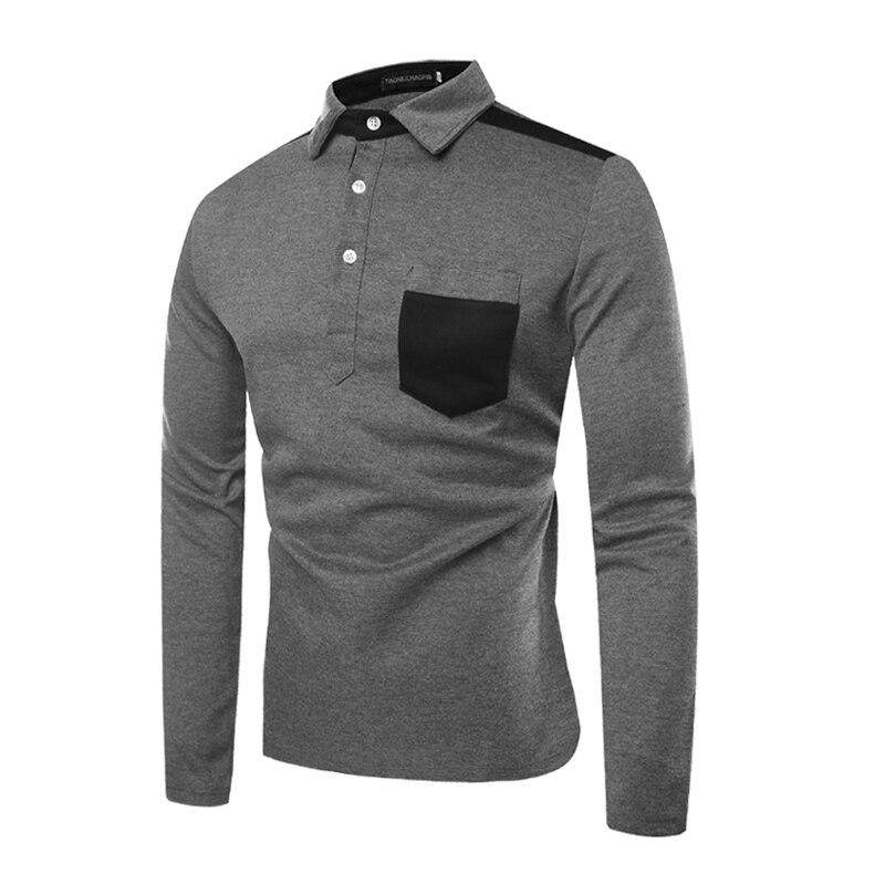 Nueva camisa POLO de solapa con costuras para hombre, POLO de hombre AliExpress EBAY