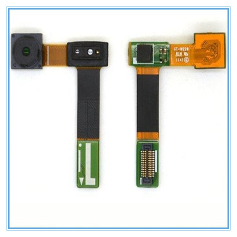 Wholesale 5-10pcs/lot Small Camera For Samsung Galaxy Note 1 i9220 N7000 Front Camera Light proximity Sensor Flex Cable