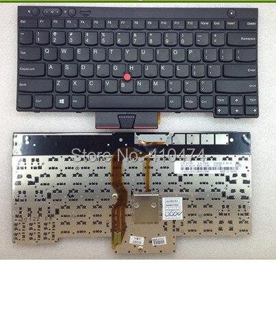 SSEA nuevo envío gratis US teclado de ordenador portátil para Lenovo IBM ThinkPad T430 T430I T430S X230 W530
