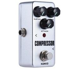 KOKKO Mini compresseur effet pédale Portable guitare effet pédale FCP2 haute qualité Chibson guitare pièces et accessoires