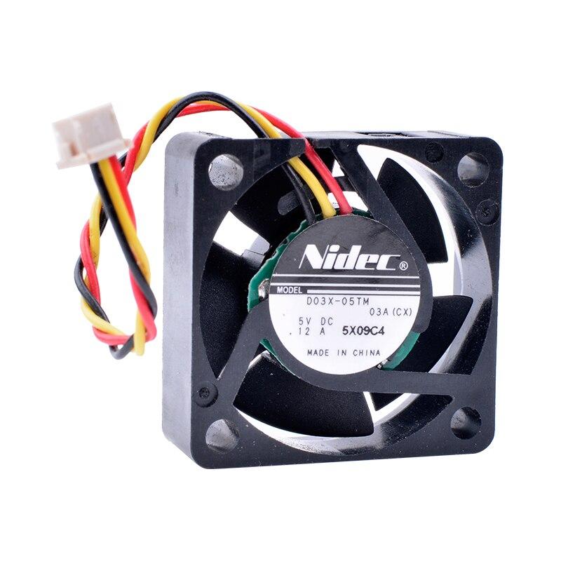 REFRIGERAÇÃO REVOLUÇÃO D03X-05TM 3010 3 cm 30 milímetros fã 5 V 0.12A Router-Caixa de Rede-Ventilador de Refrigeração Em Miniatura