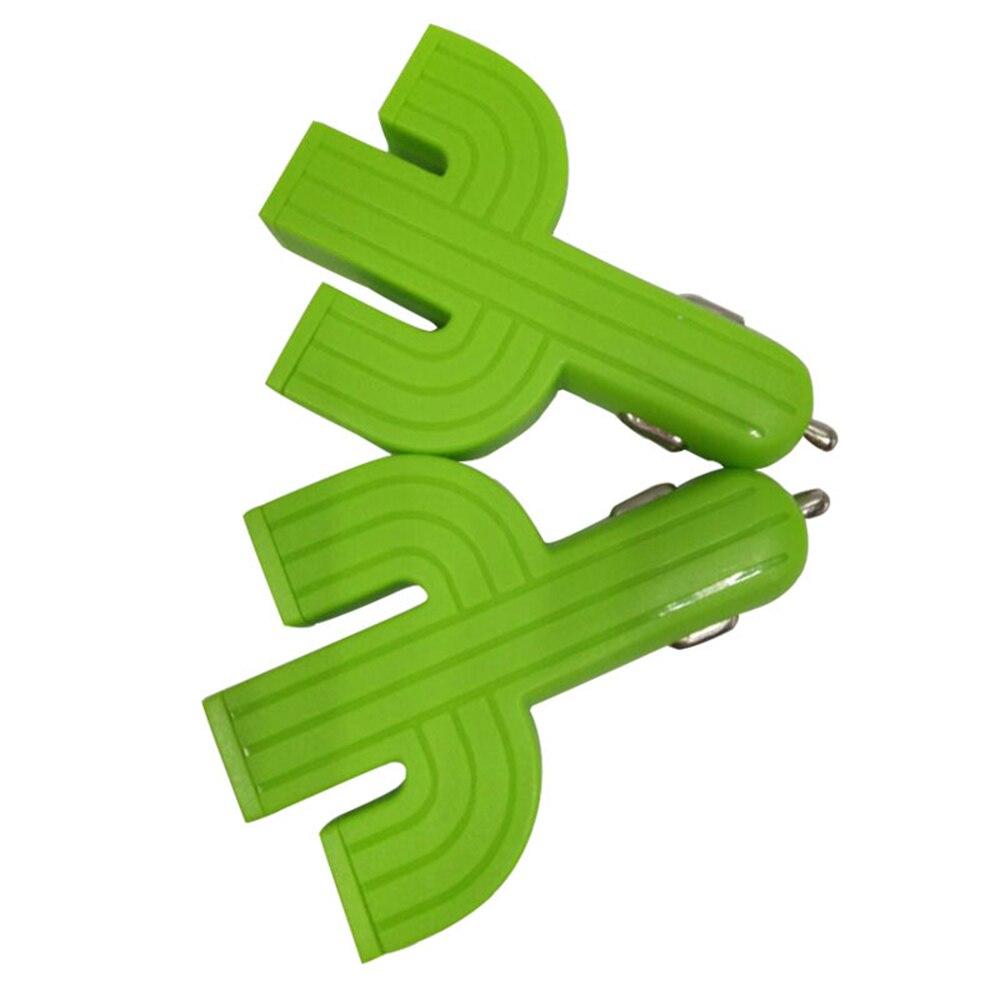 Coche Cables adaptadores de enchufes y tomas de teléfono móvil de coche cargador Cactus 3U cargador de coche multifunción 3USB de adaptadores de cargador de coche 12 v