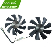 87MM GA92S2H 100MM GAA8S2H GAA8S2U 4Pin Cooler Fan For ZOTAC GTX 1060 1070 Ti MINI HA 1080 Ti MINI Dual Graphic Card Cooling Fan