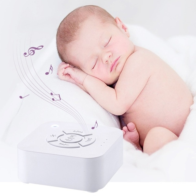 White Noise Machine USB Rechargeable Timed Shutdown Sleep Sound Machine For Sleeping & Relaxation For Baby Adult Office Travel 2