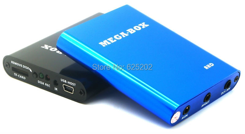Super Mini AHD grabadora 1 canal móvil DVR soporte 256GB tarjeta TF y 1TB HDD