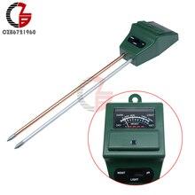 3 in 1 Digital Soil Moisture PH Illuminance Meter Humidity Light Tester Analyzer Detector for Garden Plant Flower Hydroponic