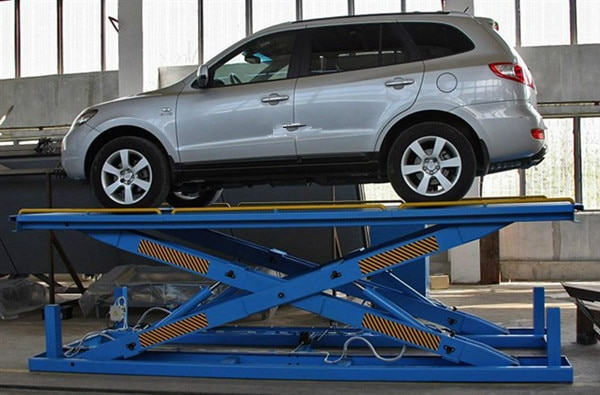 Stationary Hydraulic Scissor Car Lift