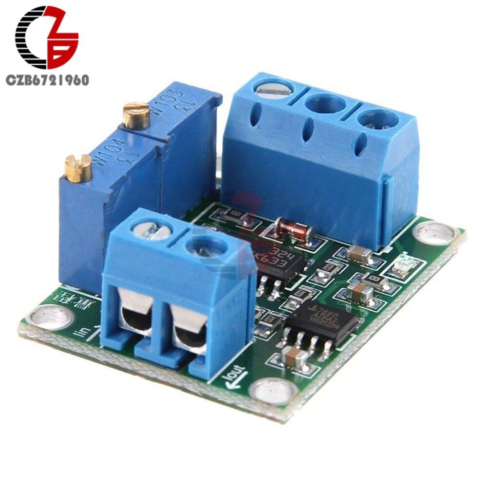 Преобразователь сигнала 4-20mA в 0-15 в 0-5 в 0-10 В, изоляционный ток в напряжение, преобразователь сигнала, модуль трансформатор, плата постоянного тока 12 В 24 В, сделай сам