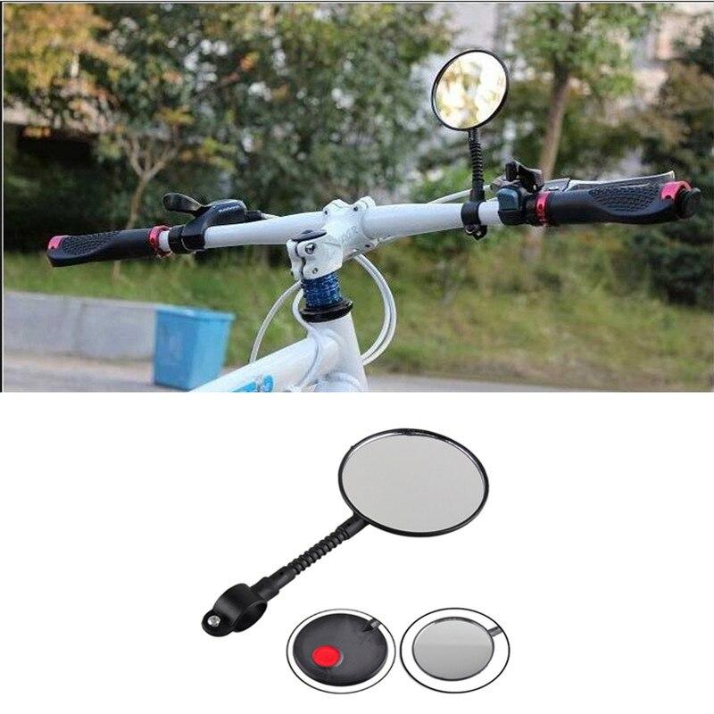 Espejo retrovisor de bicicleta eléctrica, espejo de cristal de seguridad en bicicleta Ajustable, accesorios de bicicleta al por mayor