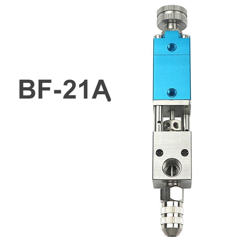 Accesorios de válvula dispensadora BF-21A Tipo de resorción herramienta de gotero herramienta de dispensación de pegamento pistola de dispensación neumática