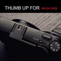 Aluminum Thumb Grip Thumb Rest Thumb UP For RICOH GR III GR 3 GR3 Hot Shoe Cover