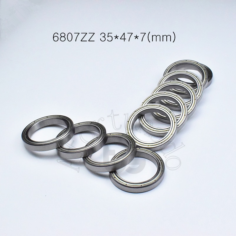Cojinete sellado de metal de acero cromado, rodamientos de pared finos, ABEC-5...