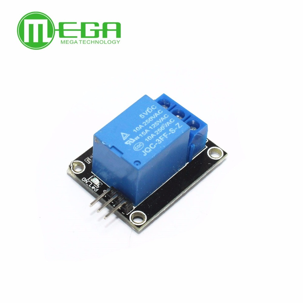 10pcs/lot 1 Channel 5V Relay Module 1-Channel realy KY-019 for arduino