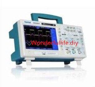 Osciloscópio Digital 100 MHz 2 canais 1GS / s USB 7  LCD de alta resolução 800 x 480 1 M DSO5102B